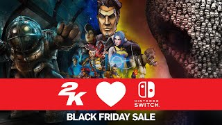 2K Nintendo Switch Black Friday Sale 2020