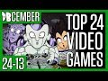 Top 24 Dragon Ball Video Games | 24-13 | DBCember 2017 | Team Four Star