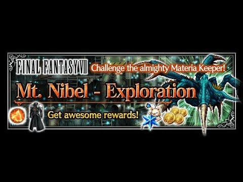 [FFBE] | Mt Nibel Exploration HARD | HOW TO TAKE DOWN THE MATERIA KEEPER (WHALE)