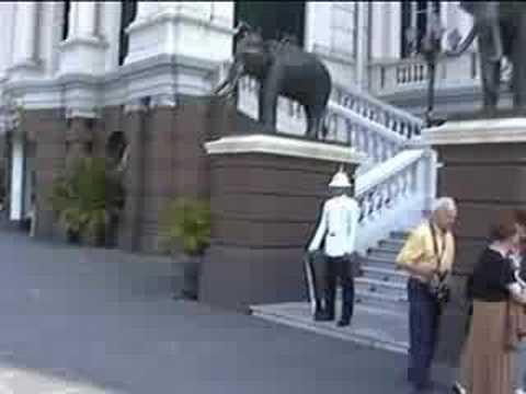Thailande découverte du palais royal de Bangkok