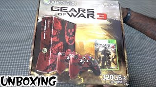Xbox 360 Gears of War 3 Limited Edition Unboxing