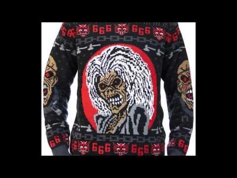 Iron Maiden Ugly Christmas Sweater Steven Adler Joins Guns N