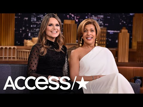 Hoda Kotb & Savannah Guthrie Describe First Week Co-Anchoring 'Today' Like 'First Date' | Access