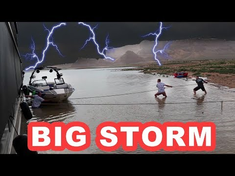 Scary Storm at Lake Powell
