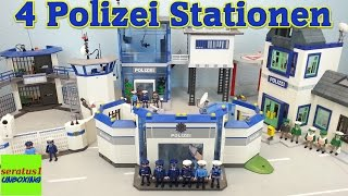 100. Video 4 Polizei Stationen vorstellen seratus1 unboxing Mega Set