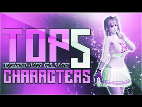 TOP 5 DEAD OR ALIVE CHARACTERS