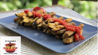 Patlıcan balığı tarifi / Domates soslu Çıtır çıtır patlıcan kızartması tarifi / Ev Lezzetleri