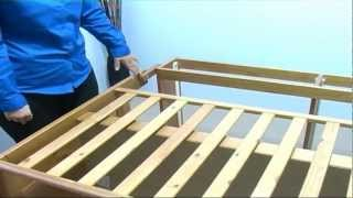 Saplings Glideaway Cot Bed Assembly