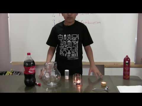 Science Experiments with Tanmay: Extinguishing a fire with CO2 from a carbonated beverage!