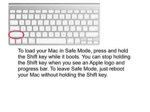 how to reboot mac into safe mode