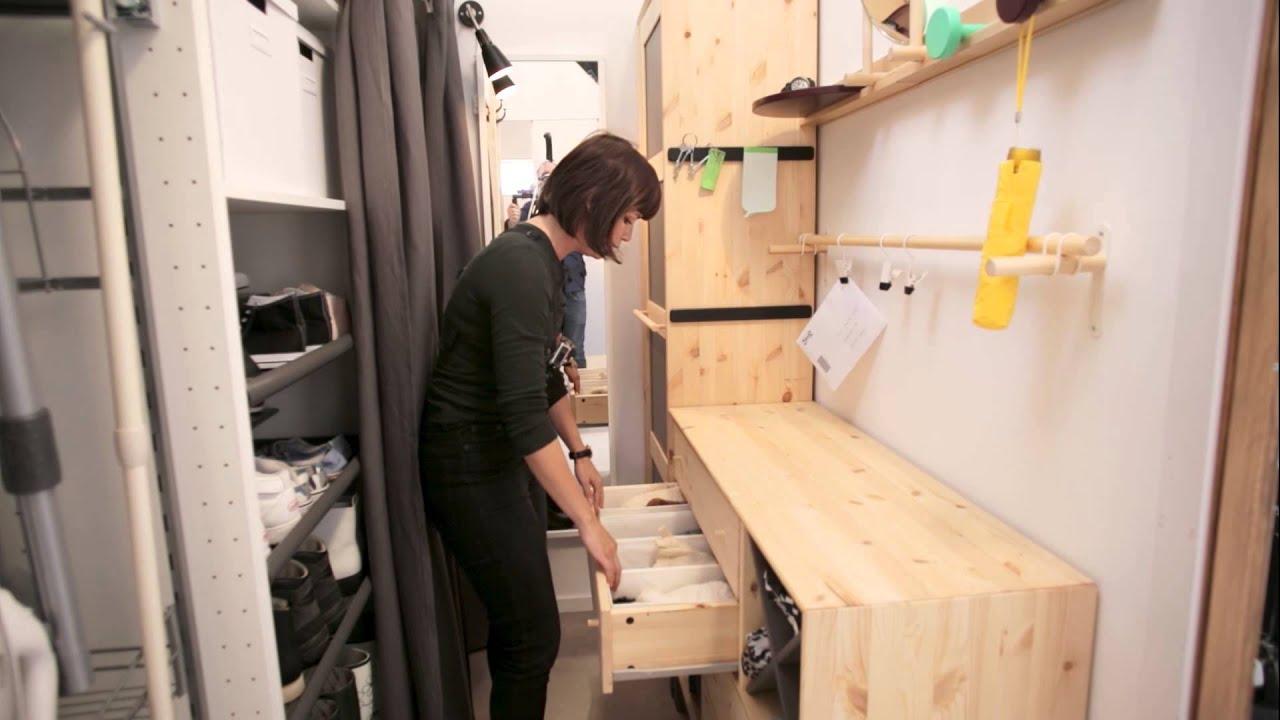 Ikea Leben Auf Wenig Raum Youtube