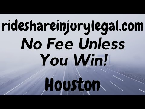 Uber Accident Attorney Houston - Get a Quote From a Lawyer and No Fee Unless You Win - Видео онлайн