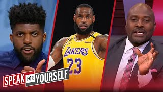 Wiley & Acho get in heated LeBron argument: Is he still the best NBA player? | SPEAK FOR YOURSELF