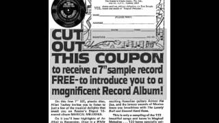 """Allan Toohey : Readers Digest """"Magical Melodies"""" promo flexi 1970"""