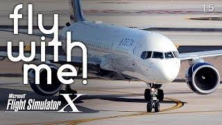 Microsoft Flight Simulator X - Delta 757 to San Diego