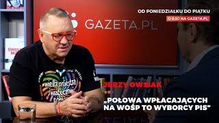 Jurek Owsiak: Połowa wpłacających na WOŚP to wyborcy PiS