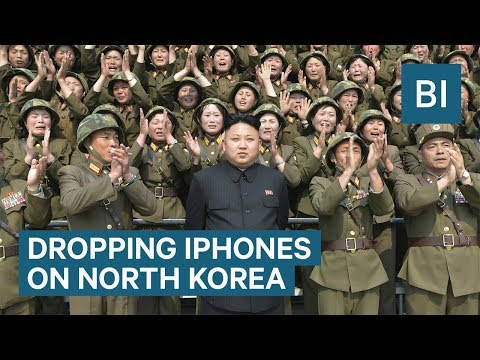 A Former Navy SEAL Commander Says We Should Drop Millions Of iPhones On North Korea