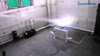 dianming led street light ip66 ip67 waterproof testing