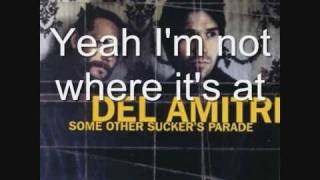 Del Amitri - Not Where It