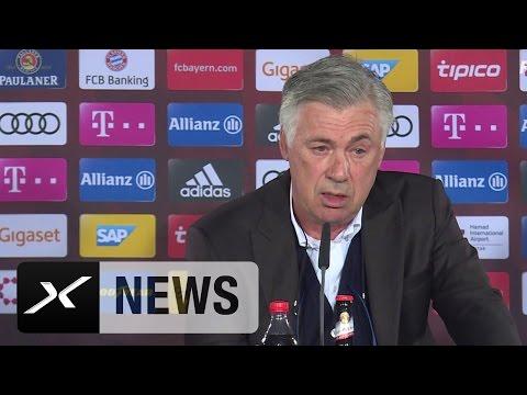 Carlo Ancelotti über SGE-Duell, FCB-Stars und XXL-WM | Eintracht Frankfurt - FC Bayern München