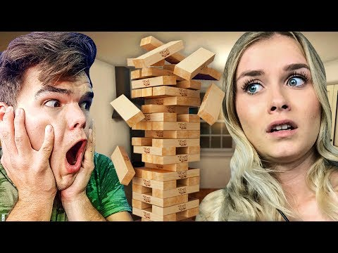 VIRTUAL JENGA CHALLENGE WITH SANNA!