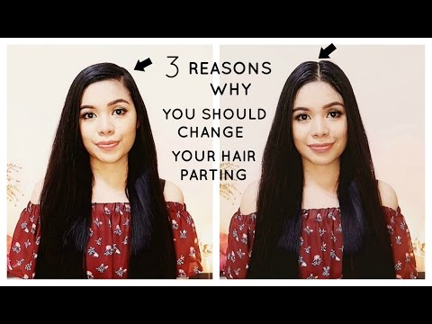 3 Reasons Why You Should Change Your Hair Parting From Time To Time ...