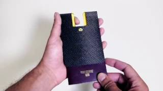 Passport holder CARBON PASSPORT CLIP