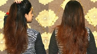 How to get Salon Silky Shiny Smooth hair at home | Hair secrets | DIY Hair Mask