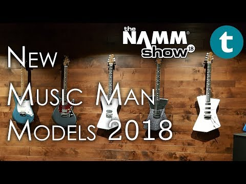 NAMM 2018 | New Music Man Guitars & Basses | Demo