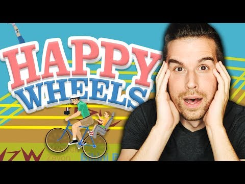 IT'S BACK & STILL HILARIOUS!! | Happy Wheels #1