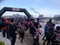 """1,5 тысячи человек решили пройти """"Гонку героев"""" в холода"""