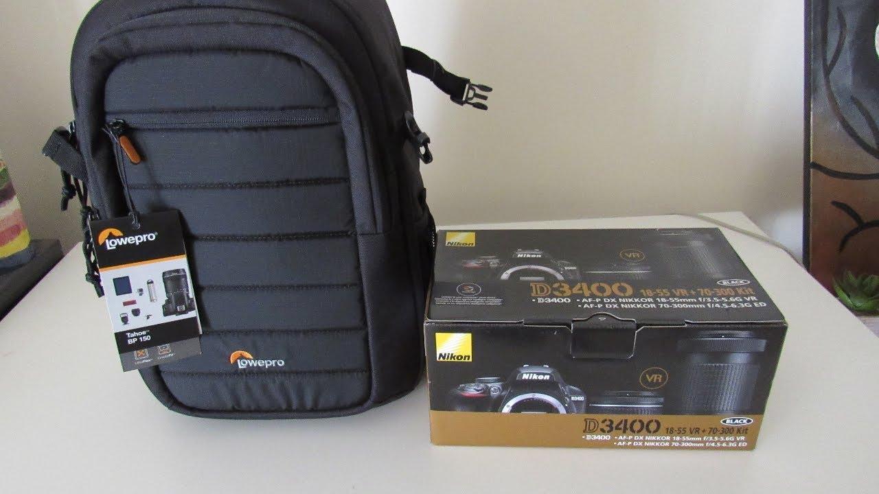 Nikon D3400 Unboxing 1ff30178f5f