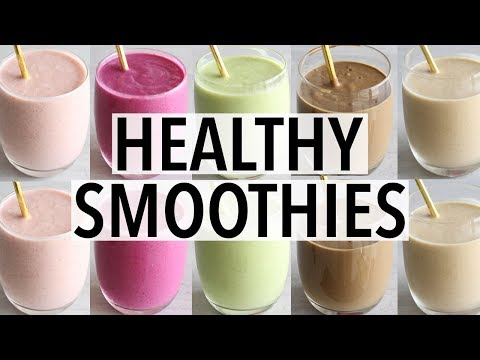 7 Easy Healthy Breakfast Smoothies | Recipes & Ideas!