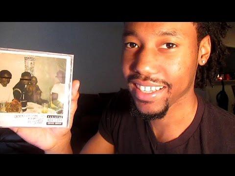 """Kendrick Lamar """"Good Kid m.A.A.d City"""" CD Opening"""