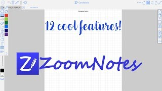 12 Reasons Why ZoomNotes is the ULTIMATE note taking app for your iPad