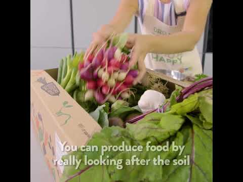 Organic. Feed Your Happy with Riverford.