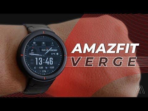 MEU SMARTWATCH PREFERIDO | AMAZFIT VERGE REVIEW PT-BR