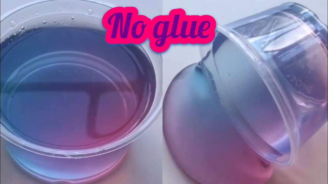 how to make slime with green clear