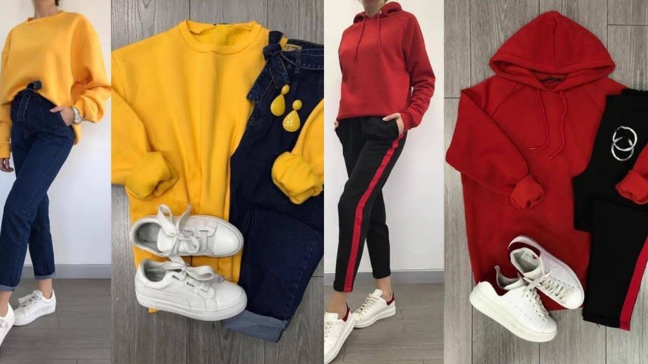 0cf6790436682 تنسيقات ملابس بنات للشتاء - Winter Lookbook 2019 - YouTube