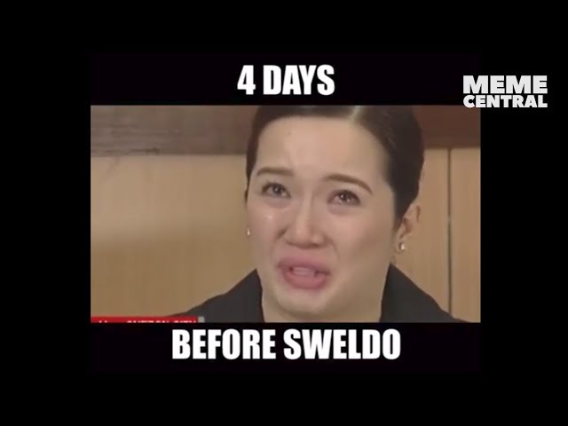 Stages of sweldo ft. Kris Aquino