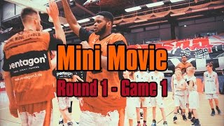 NINERS360 | Playoffs 2017 - NINERS Chemnitz vs. Gladiators Trier - Game 1 | Mini Movie