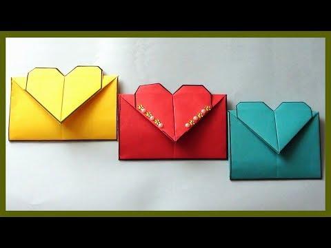 Paper Envelope Making Video Tutorial | DIY Easy Simple Paper Crafts