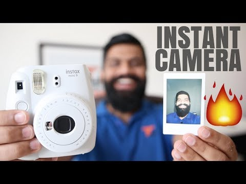 Fujifilm Instax Mini 9 Camera Unboxing and First Look - Instant Camera!!