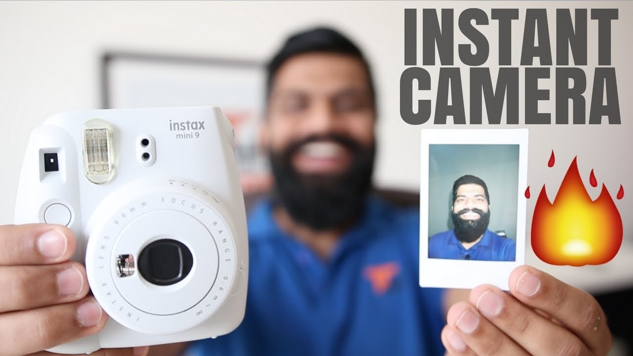 Fujifilm Instax Mini 9 Camera Unboxing And First Look