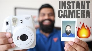 Fujifilm Instax Mini 9 Camera Unboxing and First Look - Instant Camera