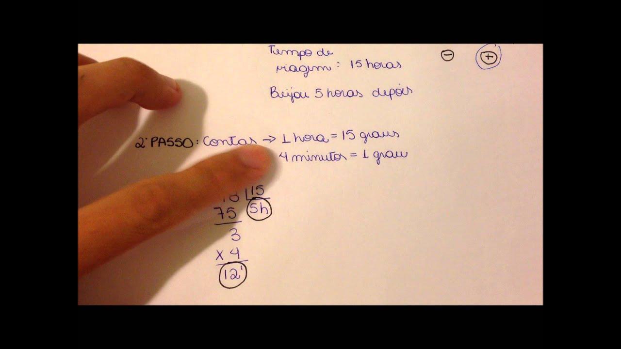 fornari_Resolução de exercícios - Fuso horário 1 - YouTube