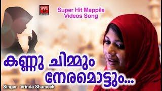കണ്ണ് ചിമ്മും നേരമൊട്ടും...  Malayalam Mappila Video Album Song | Mappila Pattukal | Vrinda Shameek