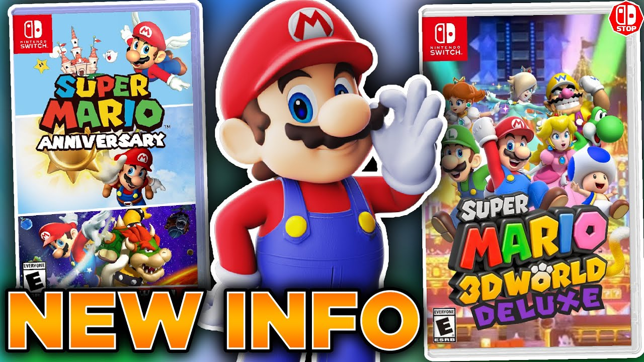 NEW Rumors For Super Mario 35th Anniversary DISCUSSION! (Feat. SwitchForce)