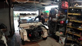 Citroen Mehari engine swap - part 2