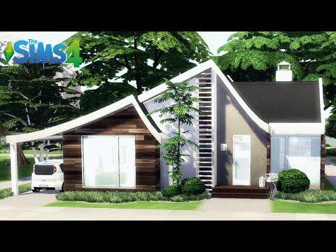 Future Cottage | Tier 3 Small home | NOCC |The Sims 4 |Stop Motion